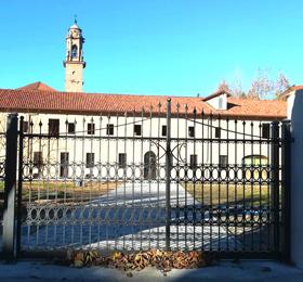 Foto esterna dell´edificio restaurato del Santuario di Sommariva del Bosco